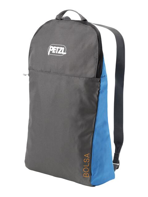 Petzl Bolsa - gris/bleu